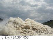 Цунами. Стоковое фото, фотограф Great Siberia Studio / Фотобанк Лори