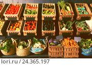 fruits and vegetables shop. Стоковое фото, фотограф Яков Филимонов / Фотобанк Лори