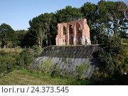Купить «Poland, West Pomeranian, Trzesacz, German Hoff an der Ostsee, St. Nicholas Church», фото № 24373545, снято 21 июля 2019 г. (c) mauritius images / Фотобанк Лори