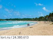 Купить «The Dominican Republic, the east, Punta Cana, Macao, beach of Macao», фото № 24380613, снято 16 августа 2018 г. (c) mauritius images / Фотобанк Лори