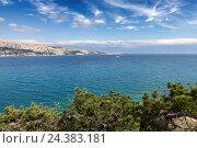 Купить «Coastal landscape in Croatia», фото № 24383181, снято 16 июля 2018 г. (c) mauritius images / Фотобанк Лори