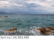 Купить «At the Croatian Adriatic Sea», фото № 24383445, снято 21 августа 2018 г. (c) mauritius images / Фотобанк Лори