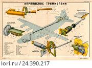 Купить «Плакат:  Управление триммерами», иллюстрация № 24390217 (c) Артем Сеттаров / Фотобанк Лори
