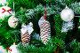 Christmas tree closeup, фото № 24392885, снято 8 декабря 2016 г. (c) Nobilior / Фотобанк Лори
