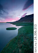 Купить «Iceland, Vestfirir, West Fjords, Atlantic Ocean,», фото № 24396313, снято 28 мая 2018 г. (c) mauritius images / Фотобанк Лори