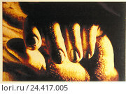 Купить «Woman, detail, hand, manipulated, women's hand, hands, women's hands, fingers, fingernails, gesture, reach, LFX», фото № 24417005, снято 19 февраля 2002 г. (c) mauritius images / Фотобанк Лори