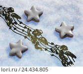 Купить «Christmas cake, biscuit, cinnamon stars, art snow, decoration, angel Christmas, yule tide, cake, biscuits, Christmas biscuits, shoes, cakes and pastries...», фото № 24434805, снято 3 декабря 2002 г. (c) mauritius images / Фотобанк Лори