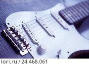 Купить «E guitar, detail, stringed instrument, plucked instrument, musical instrument, electric guitar, instrument, chordae, accompanying instrument, music, make...», фото № 24468061, снято 12 октября 2005 г. (c) mauritius images / Фотобанк Лори