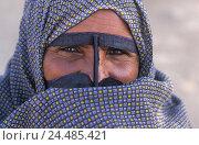 Купить «Iran, island, Queshm, woman, veils, portrait, no model release the Near East, locals, Iranian, view camera, veil, Batalu, facial veil, mask, Islam, faith...», фото № 24485421, снято 27 августа 2003 г. (c) mauritius images / Фотобанк Лори