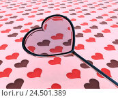 Купить «Computer graphics, loupe, heart-shaped, substance, heart sample, detail, heart, hearts, love, loupe, Valentinstag, 3d-graphics, sample, many, pink, rose, look, conception,», фото № 24501389, снято 20 мая 2009 г. (c) mauritius images / Фотобанк Лори