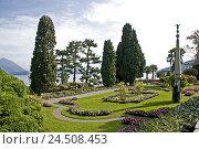 Купить «Italy, Lago Maggiore, Isola Bella, garden,», фото № 24508453, снято 24 ноября 2009 г. (c) mauritius images / Фотобанк Лори