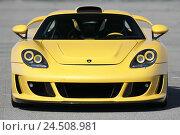 Купить «Of Gemballa' Mirage GT', Porsche, head-on», фото № 24508981, снято 7 марта 2008 г. (c) mauritius images / Фотобанк Лори