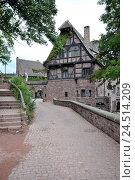 Купить «Wartburg, Eisenach, Thuringia, Germany,», фото № 24514209, снято 2 февраля 2010 г. (c) mauritius images / Фотобанк Лори