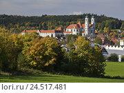 Купить «Germany, Bavaria, Allgäu, cloister Ottobeuren, autumn,», фото № 24517481, снято 15 октября 2005 г. (c) mauritius images / Фотобанк Лори