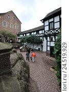 Купить «Wartburg, Eisenach, Thuringia, Germany,», фото № 24519929, снято 2 февраля 2010 г. (c) mauritius images / Фотобанк Лори