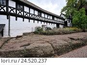Купить «Wartburg, Eisenach, Thuringia, Germany,», фото № 24520237, снято 2 февраля 2010 г. (c) mauritius images / Фотобанк Лори