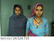Купить «India, Rajasthan, person, women, portrait,», фото № 24524733, снято 27 января 2009 г. (c) mauritius images / Фотобанк Лори