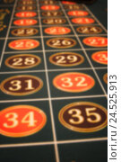 Купить «Roulette, game table, tableau, detail, blur, casino, game, luck, game chance, pitch, array, figures, red, black, entry, fields, entry fields, figure fields, profit, loss, chance, risk,», фото № 24525913, снято 13 февраля 2009 г. (c) mauritius images / Фотобанк Лори