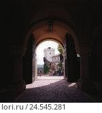 Купить «Germany, Thuringia, Eisenach (town), Wartburg (castle), gate hall, south tower, tourist, castle, building, castle gate, gate, main tower, tower, donjon...», фото № 24545281, снято 22 сентября 2018 г. (c) mauritius images / Фотобанк Лори