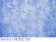 Купить «Texture of frost», фото № 24552725, снято 8 декабря 2016 г. (c) Типляшина Евгения / Фотобанк Лори