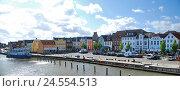 Купить «Germany, Schleswig - Holstein, north frieze country, Husum, inland harbour,», фото № 24554513, снято 29 сентября 2009 г. (c) mauritius images / Фотобанк Лори