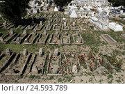 Купить «Greece, Rhodes, cemetery,», фото № 24593789, снято 20 августа 2018 г. (c) mauritius images / Фотобанк Лори