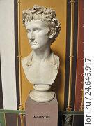 Купить «Bust, Augustus, Pompejanum, Aschaffenburg, Bavaria, Germany,», фото № 24646917, снято 23 января 2019 г. (c) mauritius images / Фотобанк Лори