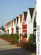 Купить «Denmark, Jutland, Ho, holiday homes,», фото № 24662005, снято 26 сентября 2018 г. (c) mauritius images / Фотобанк Лори