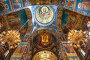 Купить «Interior of the Church of the Savior on Spilled Blood in St. Petersburg, Russia.», фото № 24668157, снято 6 июля 2015 г. (c) Наталья Волкова / Фотобанк Лори