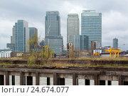 Купить «Great Britain, London, North Greenwich, view of dock country,», фото № 24674077, снято 19 августа 2018 г. (c) mauritius images / Фотобанк Лори