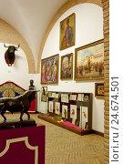 Купить «Spain, Andalusia, Seville, bullfight museum,», фото № 24674501, снято 19 августа 2018 г. (c) mauritius images / Фотобанк Лори