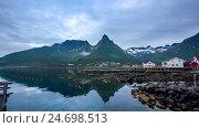 Купить «Beautiful Nature Norway.», видеоролик № 24698513, снято 12 декабря 2016 г. (c) Андрей Армягов / Фотобанк Лори