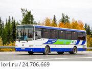 Купить «GOLAZ LIAZ 5256», фото № 24706669, снято 31 августа 2012 г. (c) Art Konovalov / Фотобанк Лори