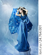Ледяная принцесса. Стоковая иллюстрация, иллюстратор Маргарита Нижарадзе / Фотобанк Лори