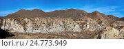 Купить «Панорама пустыни Табернас в Испании», фото № 24773949, снято 22 декабря 2016 г. (c) Alexander Tihonovs / Фотобанк Лори