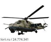 Вертолет Ми-24В Ми-35 (2012 год). Редакционное фото, фотограф Владислав Чеканин / Фотобанк Лори