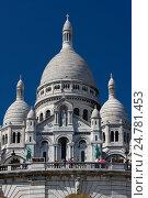 Купить «Базилика Святого сердца, Париж, Франция», фото № 24781453, снято 23 июля 2012 г. (c) Виталий Батанов / Фотобанк Лори