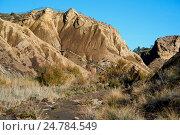 Купить «Пустыня Табернас в Испании. Андалусия, провинция Альмерия», фото № 24784549, снято 22 декабря 2016 г. (c) Alexander Tihonovs / Фотобанк Лори