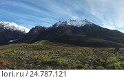 Купить «Козельский вулкан на Камчатке (time lapse)», видеоролик № 24787121, снято 21 апреля 2018 г. (c) А. А. Пирагис / Фотобанк Лори