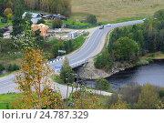 Купить «Село Хелюля. Республика Карелия», фото № 24787329, снято 18 сентября 2016 г. (c) Дмитрий Шишков / Фотобанк Лори