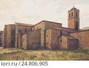 Concathedral of San Pedro at Soria. Стоковое фото, фотограф Яков Филимонов / Фотобанк Лори