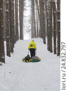 Зимний пейзаж. Стоковое фото, фотограф Альбина Ялунина / Фотобанк Лори