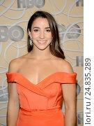 Aly Raisman - Beverly Hills/California/United States - HBO POST GOLDEN GLOBES PARTY. (2017 год). Редакционное фото, фотограф Patrick Rideaux / age Fotostock / Фотобанк Лори