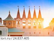 Купить «Tikhvin Assumption Monastery, a Russian Orthodox, (Tihvin, Saint Petersburg region, Russia)», фото № 24837405, снято 23 июля 2010 г. (c) Куликов Константин / Фотобанк Лори