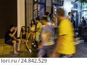 Купить «Odessa, Ukraine, young people from Kiev make a few days holiday in Odessa», фото № 24842529, снято 21 августа 2016 г. (c) Caro Photoagency / Фотобанк Лори