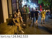 Купить «Odessa, Ukraine, young people from Kiev make a few days holiday in Odessa», фото № 24842533, снято 21 августа 2016 г. (c) Caro Photoagency / Фотобанк Лори