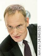 Wreschen, Poland, Eckhard Scholz, CEO of VW Commercial Vehicles (2016 год). Редакционное фото, агентство Caro Photoagency / Фотобанк Лори
