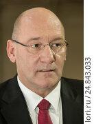 Wreschen, Poland, Jens Ocksen, Chairman of the Board of Management of Volkswagen Poznan (2016 год). Редакционное фото, агентство Caro Photoagency / Фотобанк Лори