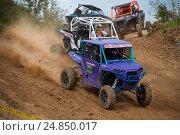 Купить «Шумейко Давид 13 (Закрытый парк),класс ATV, 4 Этап Кубка XSR-MOTO.RU по Кантри Кроссу, мотопарк Вельяминово. Репортаж», фото № 24850017, снято 10 сентября 2016 г. (c) Pukhov K / Фотобанк Лори