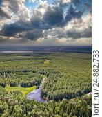 Forest river, фото № 24882733, снято 5 июля 2011 г. (c) Владимир Мельников / Фотобанк Лори